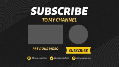 YouTube End Card Maker to Showcase Previous Video 1439e