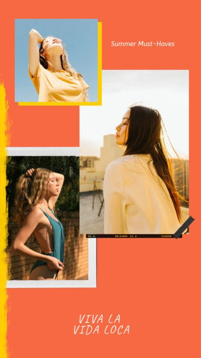 Trendy Instagram Story Maker with a Fashion Theme 968d