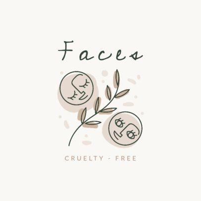 Logo Maker for a No Cruelty Makeup Brand 2212a
