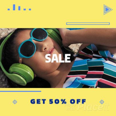 Dynamic Instagram Video Maker for a Summer Sale 1171 - 1534a