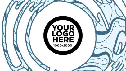 Intro Maker for a Modern Logo Reveal with Liquid Motion Graphics 1645