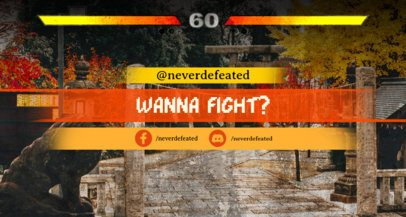 Fighting-Inspired Twitch Banner Maker 1458a