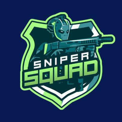 eSports Team Logo Template for an FPS Game 1743b