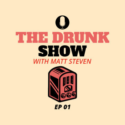 Podcast Cover Maker for Talk Shows 1498