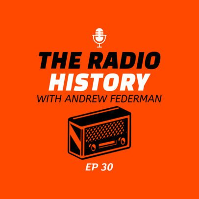 Radio-Related Podcast Cover Maker 1498a