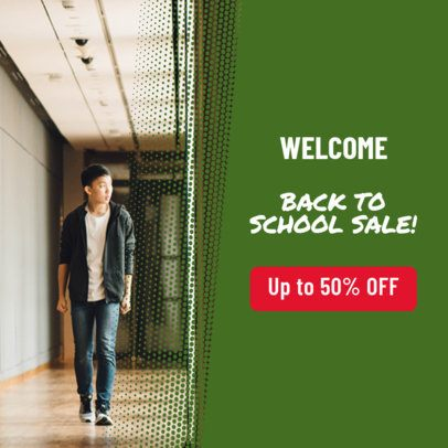 Banner Maker for Back To School Sale 534g