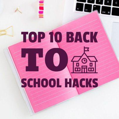 Back to School Social Media Post 564h