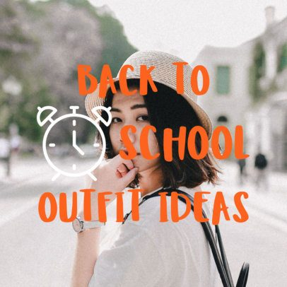 Social Media Post for Back to School 564i