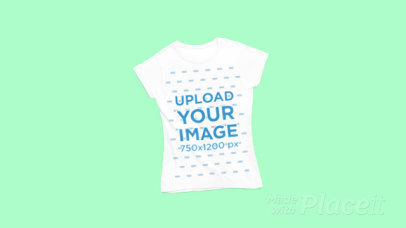 T-Shirt Video Featuring Background of Different Colors 27994