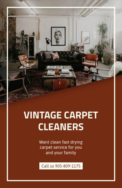 Online Flyer Maker for Carpet Cleaners 295d