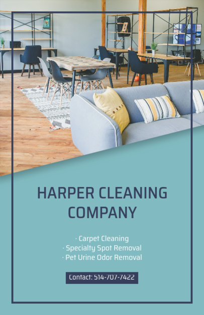 Flyer Maker for Professional Cleaning Services 295e