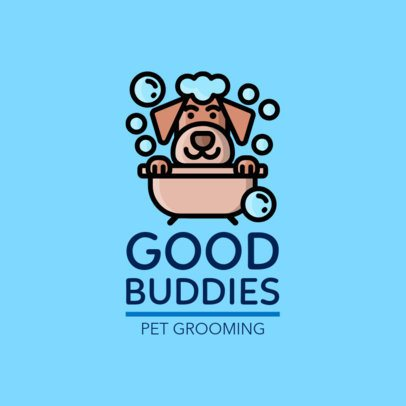 Logo Maker for a Pets Grooming Company 1433f