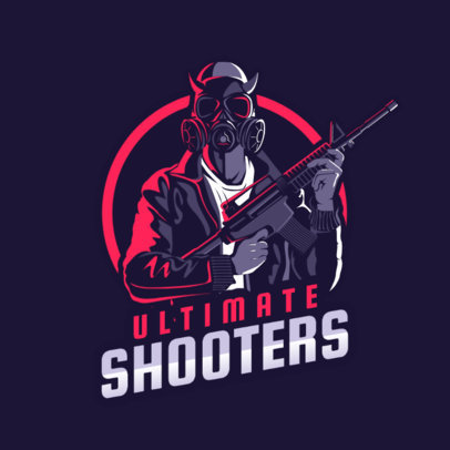 Battle Royale Logo Maker Featuring a PUBG Character 1747f