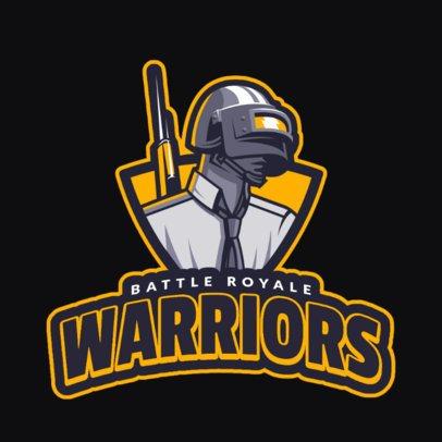 Logo Creator with a Player Unknown's Battleground Theme 1745f