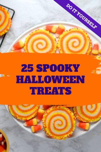 Halloween Treats Ideas Pinterest Pin Template 663g