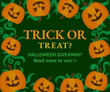 Facebook Post Template for a Special Halloween Giveaway 622k
