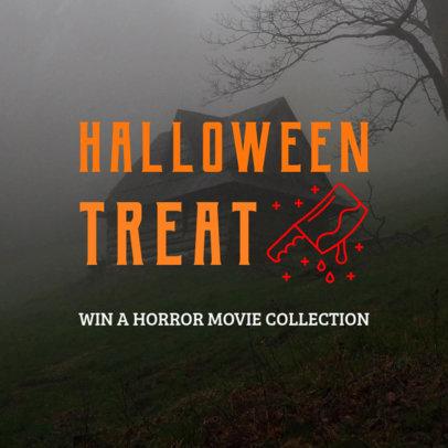 Spooky Halloween Contest Instagram Post Maker 564k