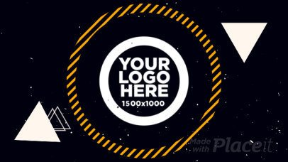 Intro Maker for a Logo Reveal with Star and Line Animations 1737