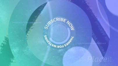 Modern YouTube End Screen Loop Animation Video Maker 1466