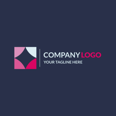 Company Logo Maker with an Abstract Icon 1517f