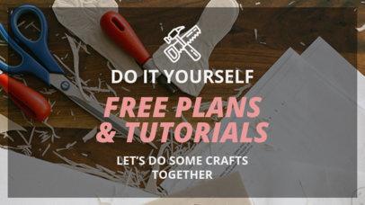 YouTube Thumbnail Design Maker for DIY Carpentry Tutorials and Ideas 890e