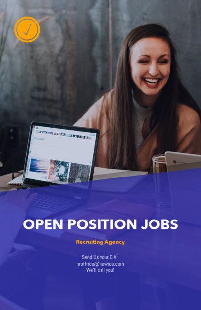 Job Recruiting Flyer Design Maker 516b