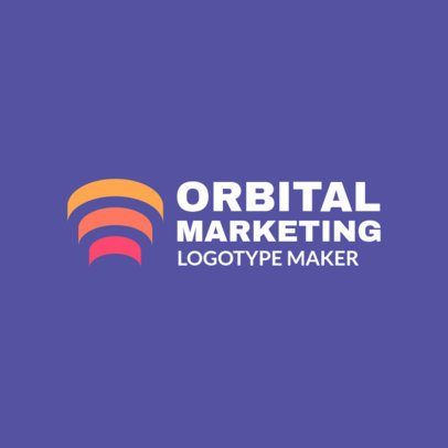 Abstract Logo Maker for a Marketing Company 2297b