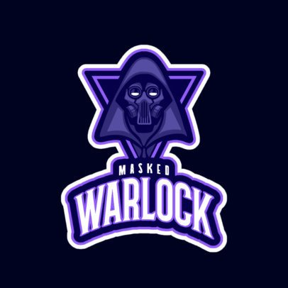Gaming Logo Maker Featuring a Masked Villain 245g