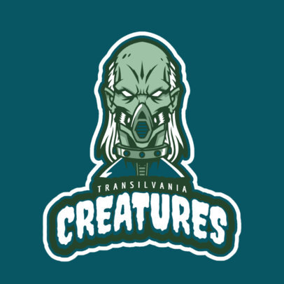 Gaming Logo Creator Featuring an Undead Character 21k