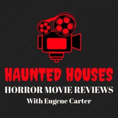 Podcast Cover Template for a Horror Movies Reviews Show 1494a