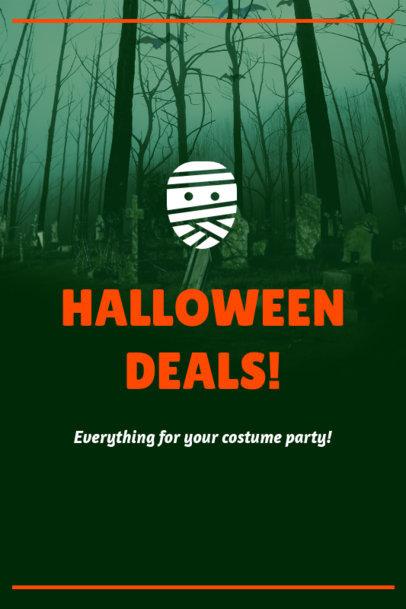 Pinterest Pin Maker for a Halloween-Themed Post 1121k