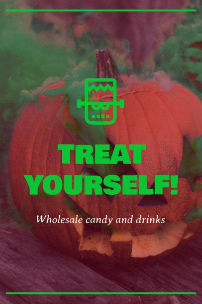 Halloween Pinterest Pin Template 1121o