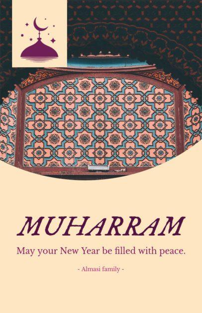 Peaceful Muharram Flyer Generator 1610g