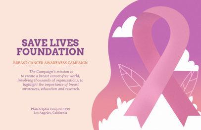 Breast Cancer Awareness Campaign Flyer Maker 315i-1604