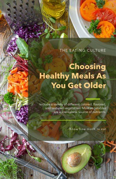 Online Flyer Maker for Nutrition Awareness  281f-1605