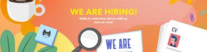 LinkedIn Cover Maker for an HR Department 1591e