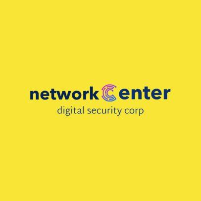 Logo Template for a Digital Security Corporation 1798i 2342