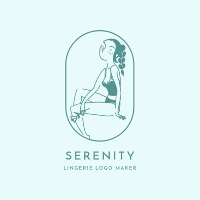 Logo Template for a Lingerie Brand 2356f