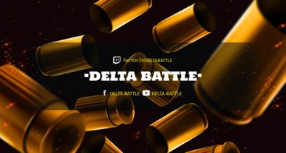 Twitch Banner Generator for Battle-Royale Games Players 1461l--1650