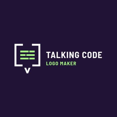 Minimalist Logo Maker for a Software Company 2373b
