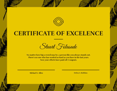 Certificate Template for a Great Friend 1669i