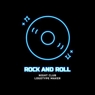Nightclub Logo Maker for a Retro Club 2414f