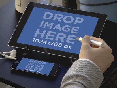 iPhone 5s & iPad Work Environment