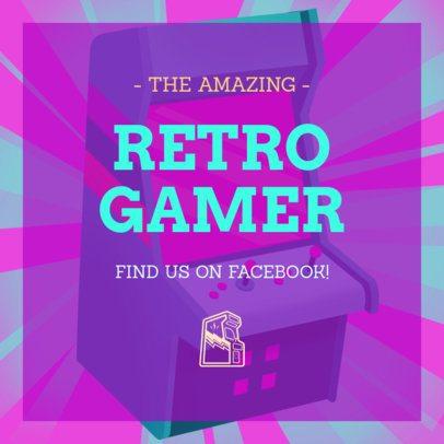 Retro Console Instagram Post Maker 634k-1695