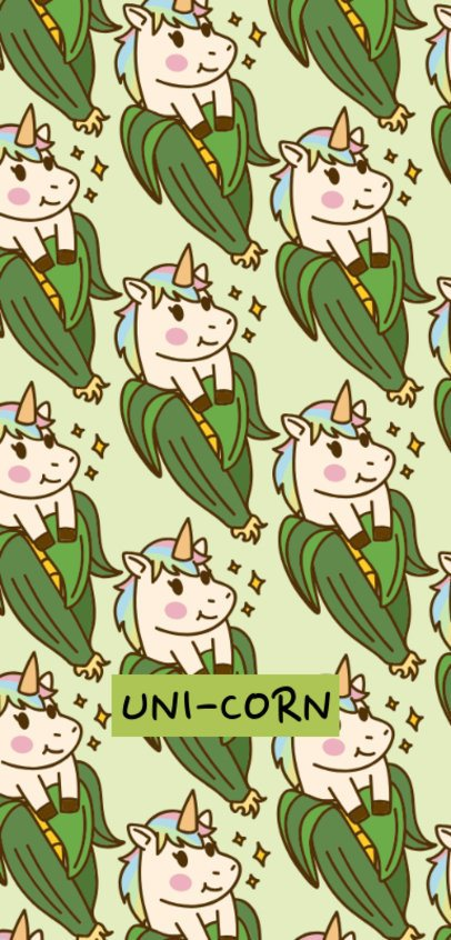 Phone Case Generatorwith Funny Unicorn Illustrations 1687a