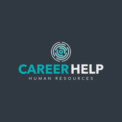 Human Resources Logo Design Maker 1285g-2443