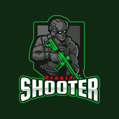 Gaming Logo Maker with Counter-Strike-Inspired Illustrations 2449l