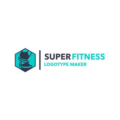 Simple Logo Maker for a Fitness Studio 2458