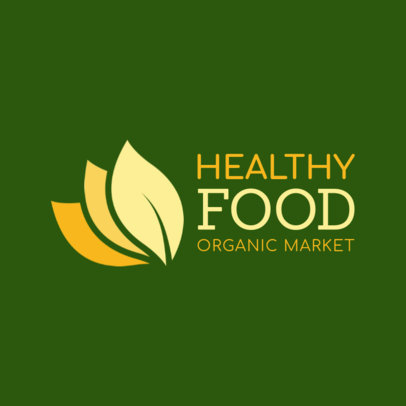 Logo Maker for an Organic Market 1190g--2461