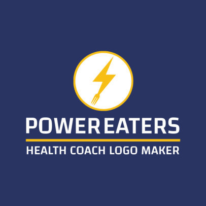 Health Coach Logo Maker 2458c